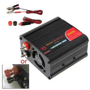 Image 2 - 300 واط عاكس الطاقة محول تيار مستمر 12 فولت إلى 220 فولت التيار المتناوب السيارات العاكس مع معدِّل سيارة