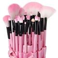 VANDER Professional 32Pcs Makeup Brushes Set Cosmetic Powder Foundation Eyebrow Lipstick Pinceaux Kabuki Kit Tool + 1x Case Bag