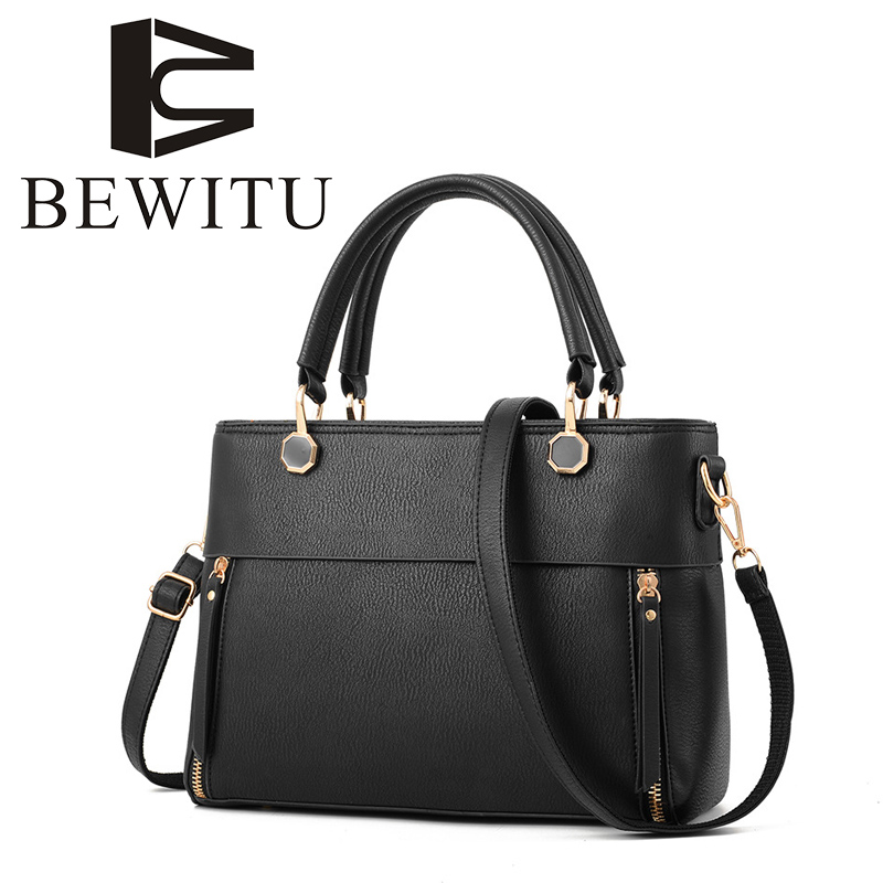 BEWITU Brand Women's Bag 2018 New Korean Version of The Female Models Stereotypes Sweet Fashion Handbag Messenger Shoulder Bag korean women s bag 2018 new wave korean version of the wild side small bag retro simple messenger messenger bag