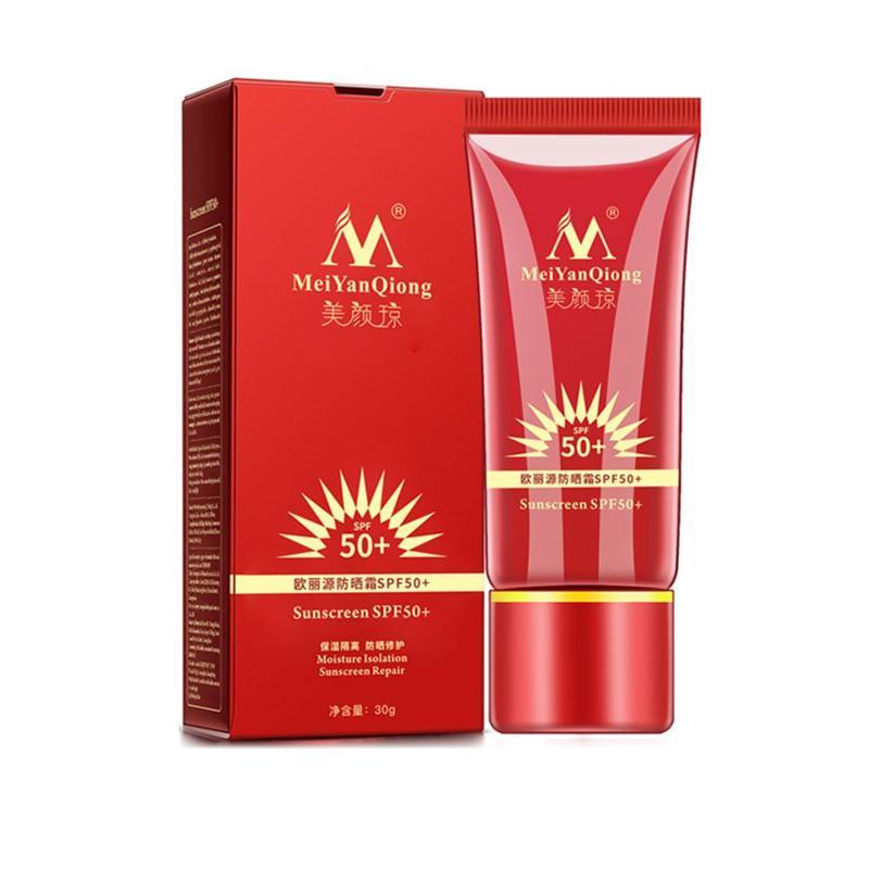 Sunscreen SPF50+ Whitening Repair Sunblock Skin Protective Cream Face Sunscreen Cream Moisturizing Skin Facial Body Skin Care