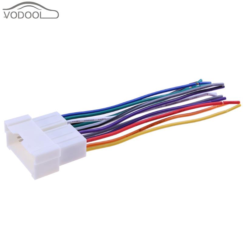 Car Stereo Cd Player Wiring Harness Wire Connect Cable