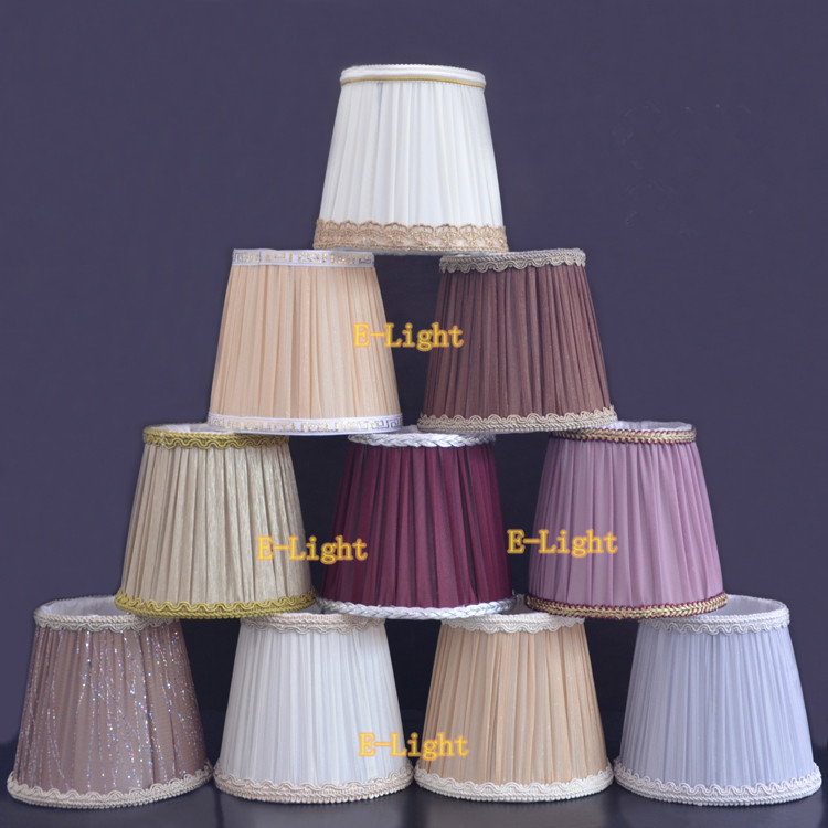 Wall Lamp Shades For Living Room : Fashion Chiffon Cloth Lampshade Cover Table wall Lamp Living Room Bedroom Light Customized Shade ...