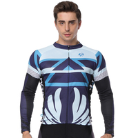 Cycling Jersey Mountain Downhill Jersey Bike DH RBX Cycling Racing Clothes Off Road Motocross Jersey For Men Long Sleeve Jersey