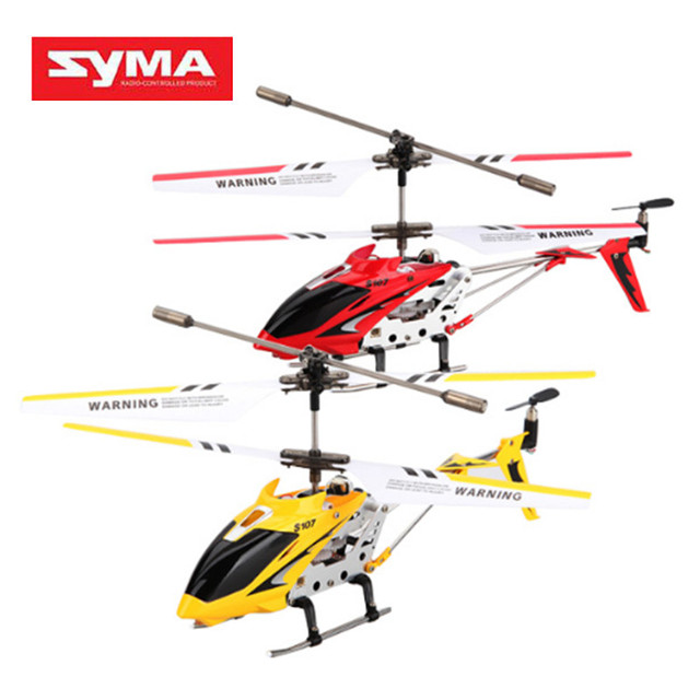 SYMA S107G Original 3CH RC Helicopter Remote Radio Control Mini Drone Drop Resistant Aircraft Gyro Copter Toys 360 Degree Flip #