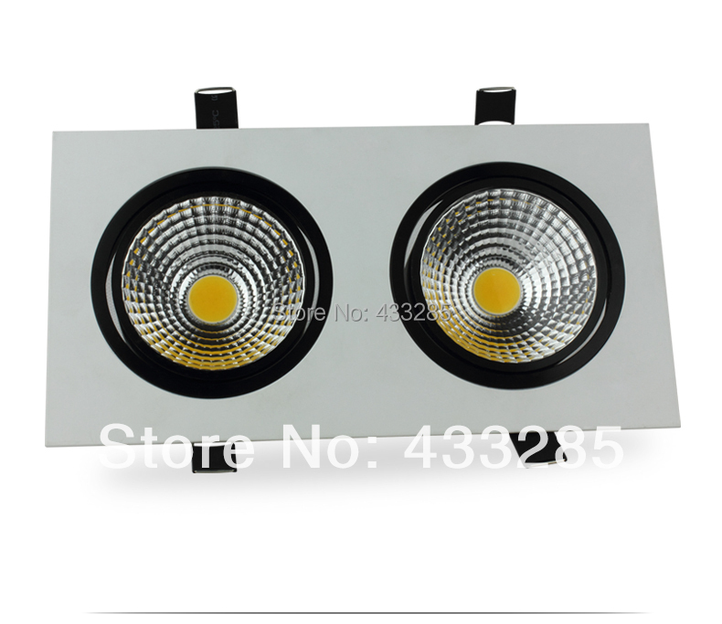 Double led lamp led grille lamp 10 w dared light COB ceiling 14 w power the salmon who dared to leap higher