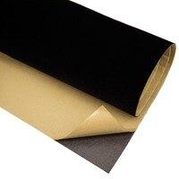 Black Velvet Flocking Contact Paper Stickers DIY Sticky