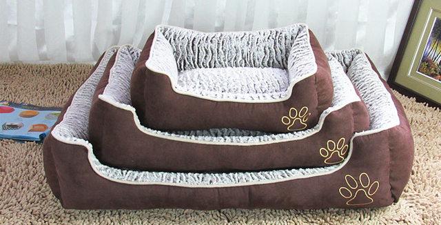 Removível e lavável ninho animal de estimação, camas grandes do cão, gato colchão, fundamentos do gato