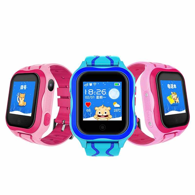 Smart Children Watch GPS LBS A32 Baby SIM Card Touch Screen SOS Call Camera Tracker Kids Alarm Clock Anti-Lost Smartband