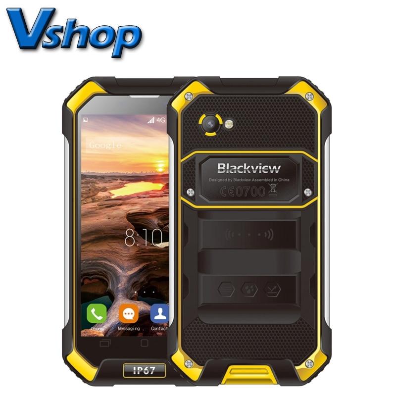 bilder für Original Blackview BV6000S BV6000 4G LTE Handys Android 6.0 IP68 Wasserdichte Smartphone 4,7 zoll 720 P Dual-SIM-telefon