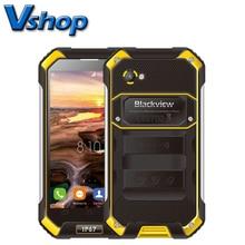 Origine Blackview BV6000S BV6000 4G LTE Mobile Téléphones Android 6.0 IP68 Étanche Smartphone 4.7 pouce 720 P Double SIM cellulaire Téléphone