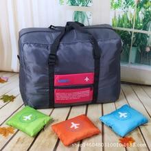 Hohe Qualität Reisetaschen Falten Tasche Wasserdichte Portable Multifunktionale Handtaschen Frauen Gepäck Big Bags