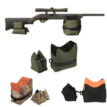 Outdoor Hunting Accessory Support Bag Tactical Sniper Target Stand Shooting Rifle Front Rear Sand Bench