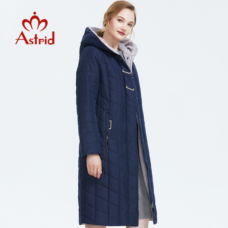 ICEbear 2019 новая зимняя куртка с капюшоном женское пальто мода женская одежда ветрозащитный теплая зимняя женская парки одежда больших размер... - 3