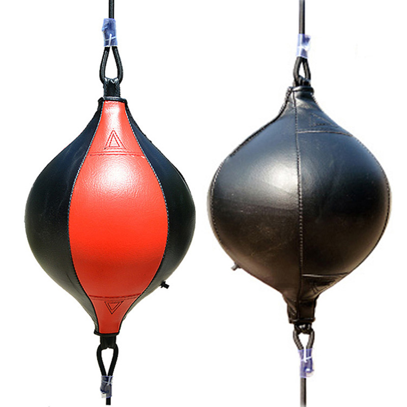 Punching Ball PU Pear Boxing Bag Reflex Speed Balls Muay Thai Punch Boxe MMA Fitness Sports Equipment Training Adults Inflatable
