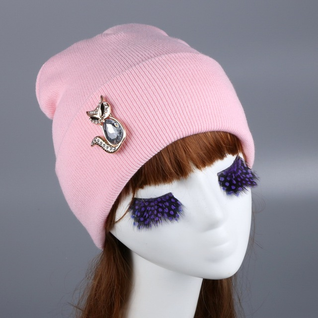 c32d848a22ac1 new women luxury rhinestone beanie gorro wholesale crystal bead novelty  vintage winter hat girl woman outdoor casual thermal cap
