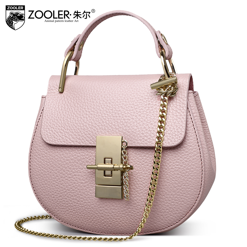 ФОТО Zooler Small genuine leather Crossbody bags New 2017 Fashion Brand Ladies mini Tote Shoulder bag Women Messenger bag Hot selling