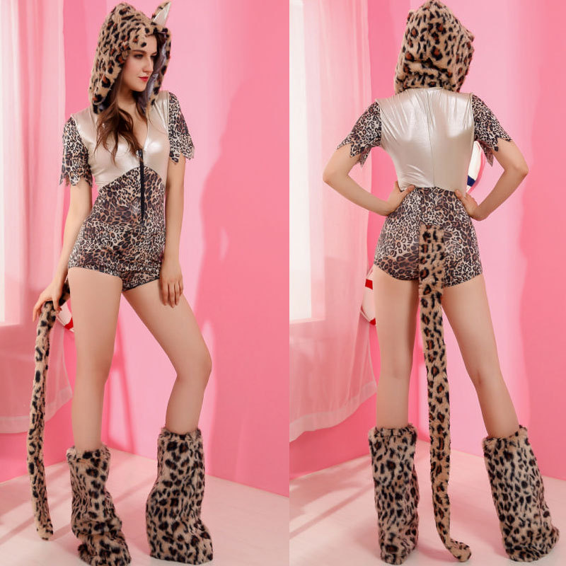 adult halloween tiger leopard cosplay clothing sexy cat girls cosplay costumes halloween animal masquerade sexy cosplay clothing - Tiger For Halloween