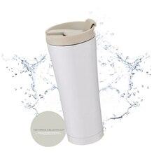 500 ml Auto Kaffeetasse Doppelwand Aus Edelstahl Isoliert Vakuum Thermoskanne Tasse Reise Tee Wasser Thermische Flasche Tumbler Thermocup