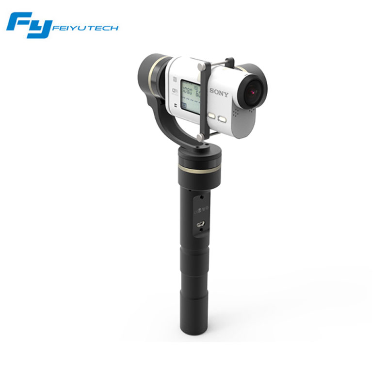 Feiyu Tech G4 GS G4GS 3-Axis Handheld Gimbal for Sony Action Cameras for AS Series Camera HDR AS20 AS100 AS200 X1000V Free ship free shipping feiyu tech g4 gs gimbal 3 axis brushless gimbal for sony hdr az1vr fdr x1000v as series sport auction camera