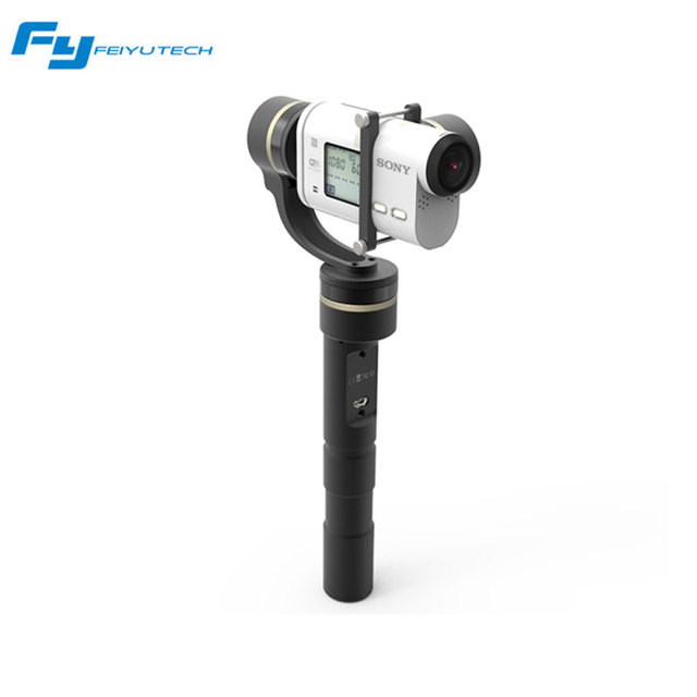 Feiyu Tech G4 GS G4GS 3-Axis Handheld Gimbal for Sony Action Cameras for AS Series Camera HDR AS20 AS100 AS200 X1000V Free ship