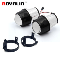 ROYALIN Bi Xenon Projector Fog Lens For Mazda MAX5 CX5 CX7 Axela Atenza 2 5 Full