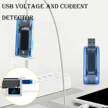 3 in 1 Battery Tester Mobile Power Detector Battery Test Voltage Current Meter USB Charger Doctor Blue Measuring Instruments new 3 in 1 battery tester voltage current detector mobile power voltage current meter usb charger