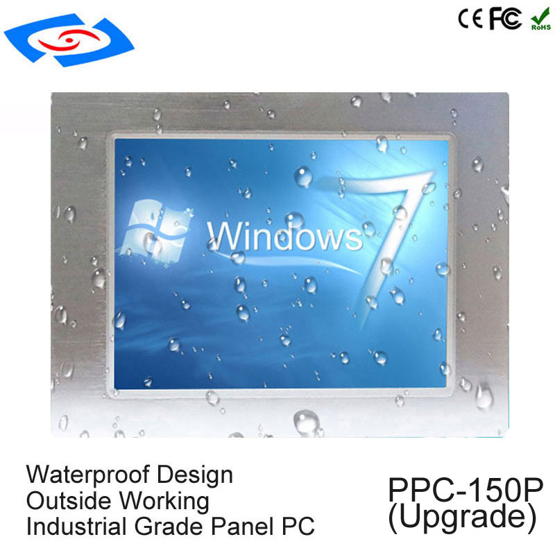 15 Inch Intel Celeron J1900 Processor Touch Mini Pc With 4Gb Ram RS485 Touch Screen Industrial Panel Pc For ATM & POS System