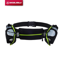 WINMAX New Running Belts Exercise Climbing Camping Cycling Runner Bag Waist Packs With 2 Free Water