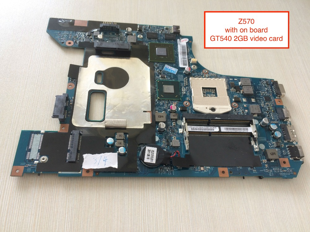 Working perfectly z570 motherboard for Lenovo Z570 laptop with NVIDIA GT540M 2GB все цены