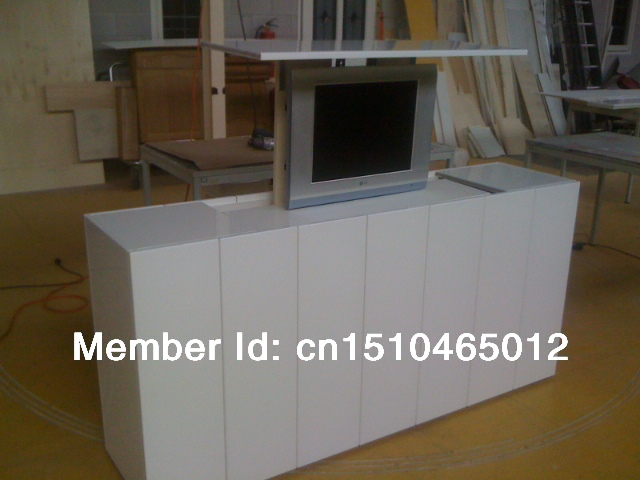 Competitive Price Professional mechanical tv lift of linear actuator for stand cabinet