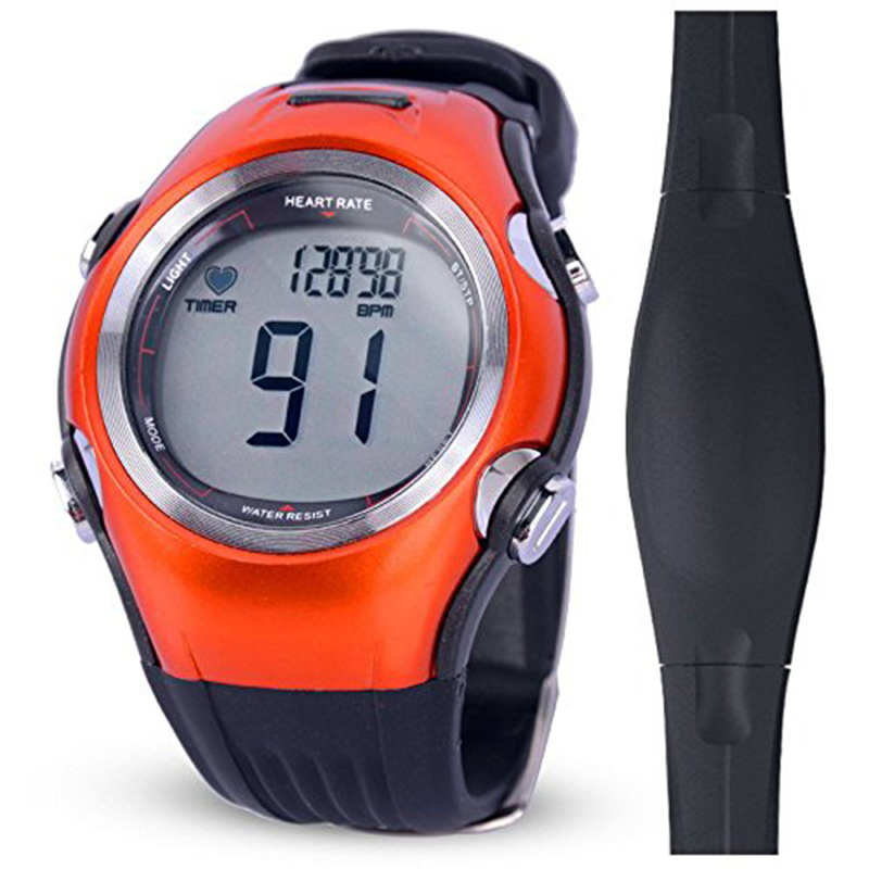 Men's Wireless Polar Watch Heart Rate Monitor 6