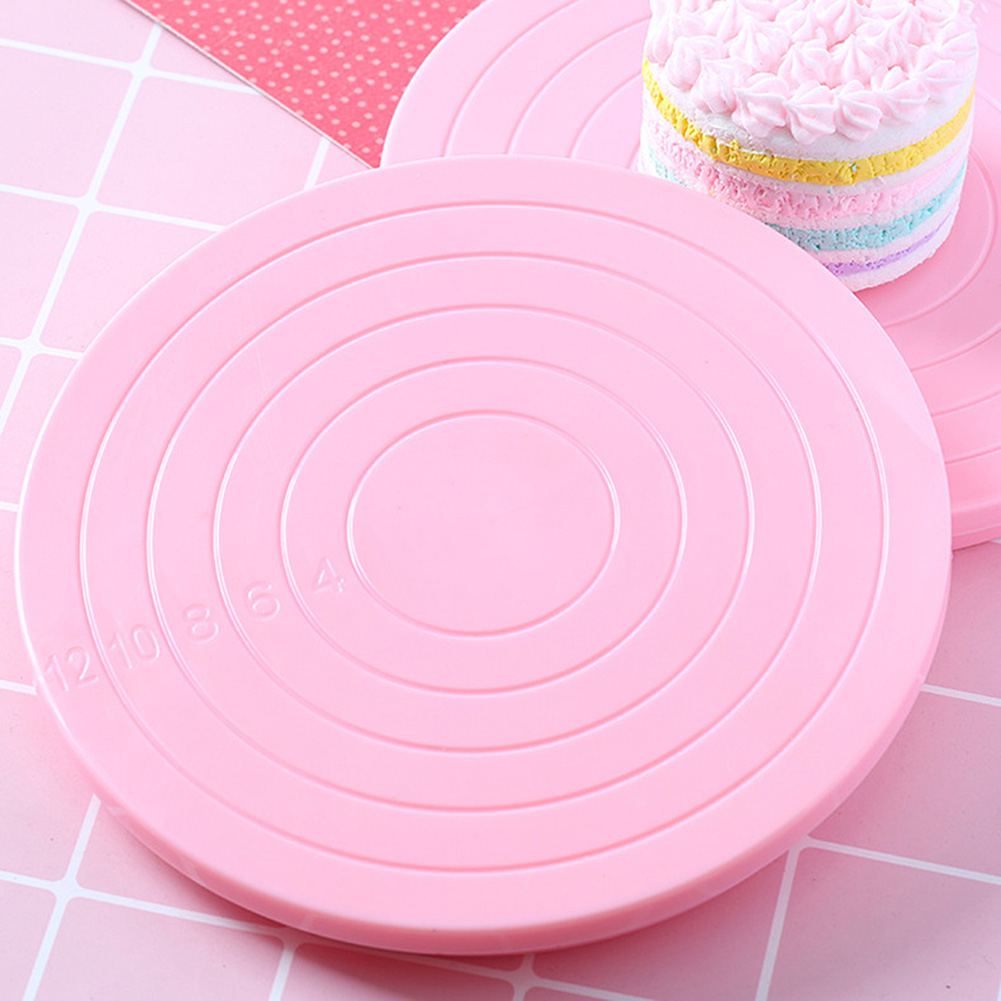Cake-Decorating-Stand Revolving Turntable Rotating-Cake Platform 14cm Biscuits DIY