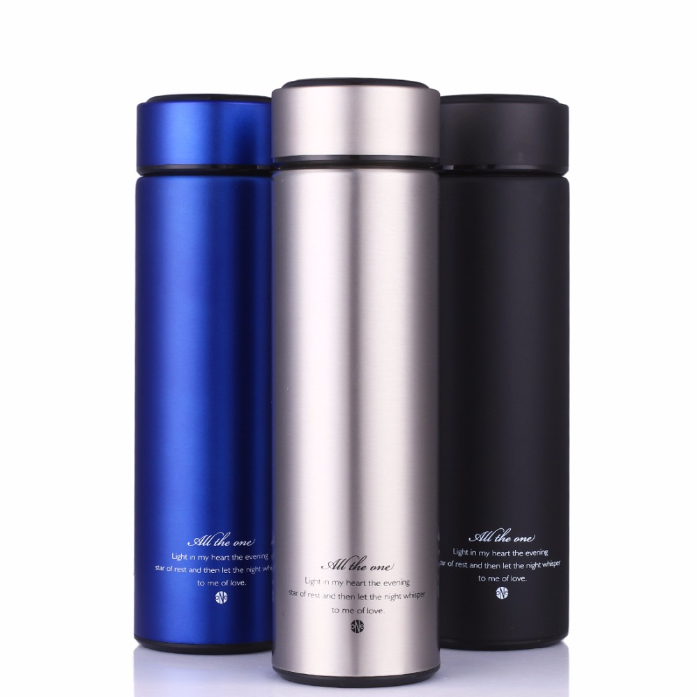 Business Thermos Cup Stainless Steel Thermo Mug With Tea