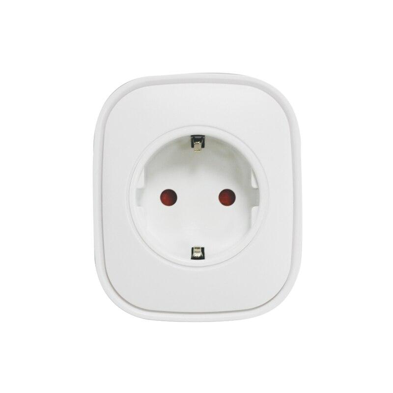 Z-wave inalámbrico UE Smart Power Plug Socket automatización medición de potencia onda Z Radio Frecuencia EU versión 868,4 MHz