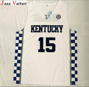 9e5304f3548 Jazz Vaiten Kentucky Wildcats College Basketball Jerseys