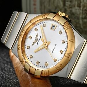 Image 2 - 2018 Men watch top brand luxury watch men Automatic brand Sapphire Stainless gold Mechanical watch waterproof Relogio Masculino