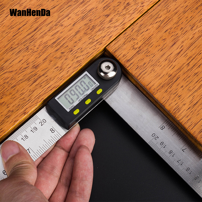 Digital Protractor Inclinometer Level Measuring Tool Electronic Angle Gauge