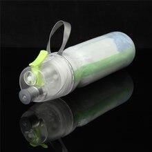 Doppel-deck Sportgetränk Spray Wasser Flasche Kälteisolierung Tasse Outdoor Fahrrad Radfahren Wandern Sport Gym Trinken Flaschen 500 ml