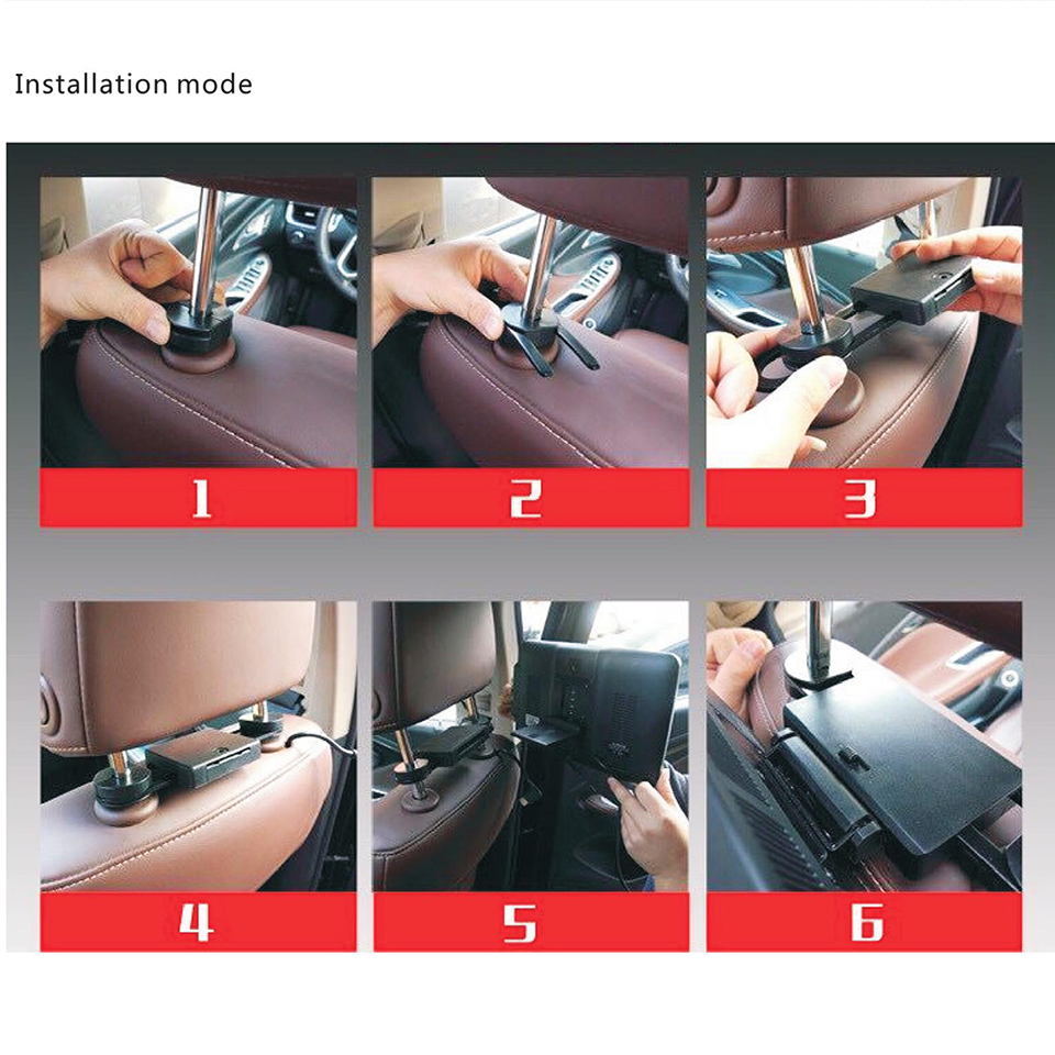 New Items 2018 Electronics Rear Seat Entertainment Android Headrest Car Monitor For BMW 2PCS Headrest DVD Player 11 8 inch in Car Monitors from Automobiles Motorcycles