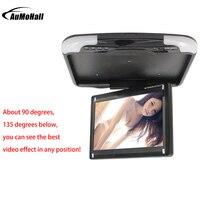 13 inches Car Monitor LED Digital Screen Car Roof Mounted Monitor Car Ceiling Monitor, Flip Down Monitor