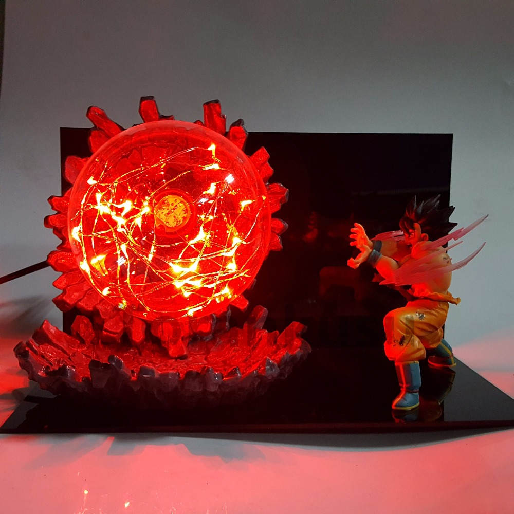 Dragon Ball Z Son Goku Action Figures Super Saiyan Kaiouken Kamehameha Anime Dragon Ball Super Goku DBZ Model Toy Figurine industrial lighting living room chandelier modern crystal lamp fashion bedroom chandeliers modern chandelier lighting hanging