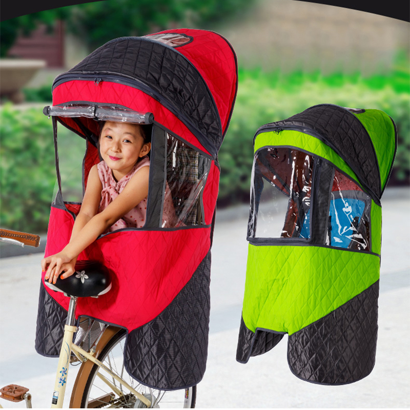 AOXIN Bicycle Rear Child Seat Canopy Rear Canopy Four Seasons General Electric Bicycle Seat Baby Canopy esspero canopy