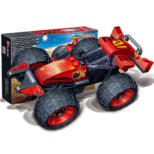 SLPF Racing Car Assemble Model Kits Compatible Legoing Technic Rally Car Children Educational Building Blocks DIY Toys Gifts K23