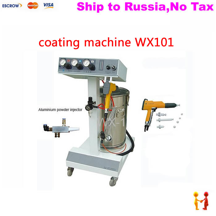 (NO TAX TO Russia) high quality Spraying Gun Paint Electrostatic Spray Powder Coating Machine with 45L tank simple v neck solid color long sleeves sweater for women