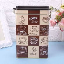 Metal Square Candy Trinket Tin Sealed Box Jewelry Candy Coin