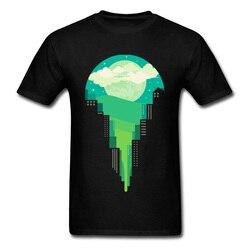 Lasting Charm greeny night Men Sports T Shirts Coupons & Fabric Crew Neck Short Sleeve Sweatshirts NEW YEAR DAY