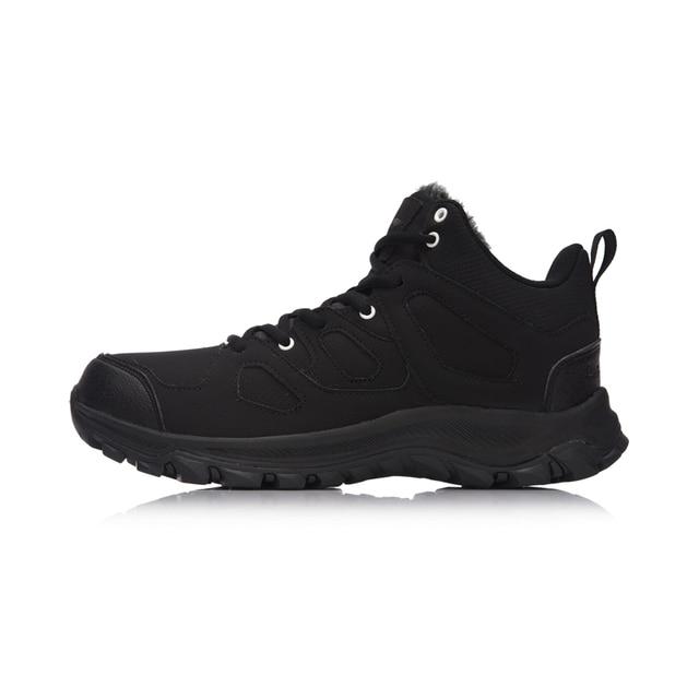 Li-Ning Men Hiking Boots Hi Hiking Shoes WARM SHELL Classic Winter Walking Sneakers Comfort LiNing Sports Shoes AGCM189 YXB101 2
