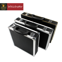 Weichster Deluxe Black Billiard Snooker Pool Ball Case Match Full Size Holds 16/22 Balls