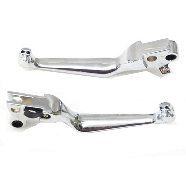 Motorcycle Clutch Brake Skull Levers For Harley FLSTF Fat Boy Heritage Softail FXDWG Dyna Wide Glide