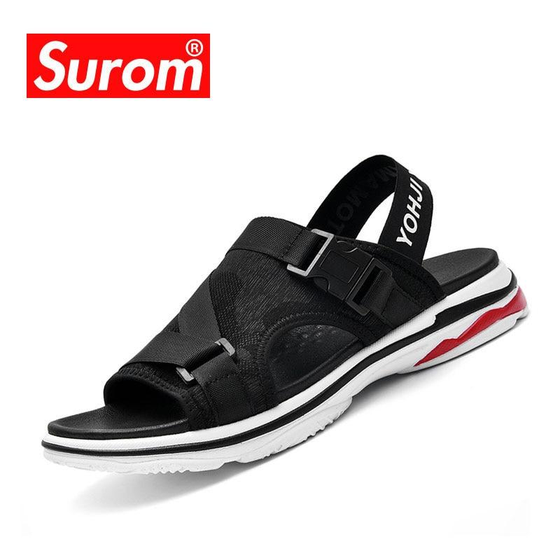SUROM Летние сандалии Мужчины Досуг - Мужская обувь